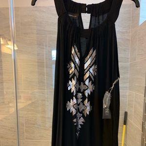NWT black sleeveless top